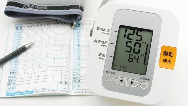 家庭血圧の測定